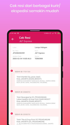 2020 Cek Resi Dan Ongkos Kirim App Download For Pc Android Latest