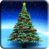 Christmas Trees Live Wallpaper
