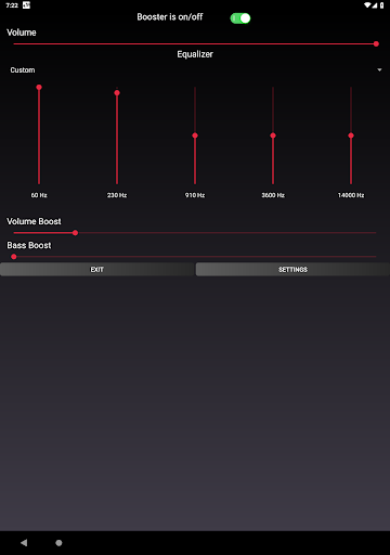 Speaker Booster with Bass Booster and Equalizer 3.1 screenshots 10