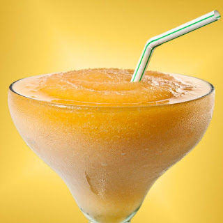 Frozen Ginger-Peach Margarita