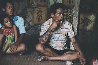 Photo: Chef de la longhouse à Batang Ai au Sarawak