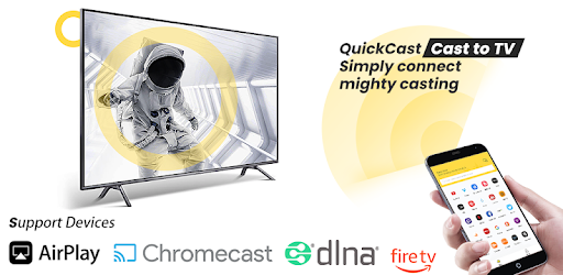 Cast to Chromecast Fire TV Android Smart TV ROKU - Apps on