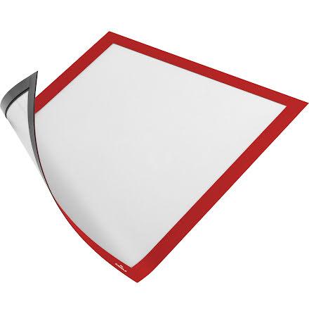 Duraframe Magnetic A4 röd 5fp
