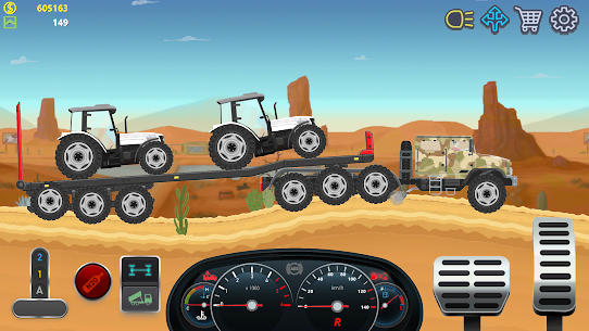 Trucker Real Wheels – Simulator MOD APK [Unlimited Money] 2
