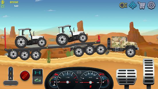 Trucker Real Wheels - Simulator 3.2.9 APK + Modificación (Unlimited money) para Android