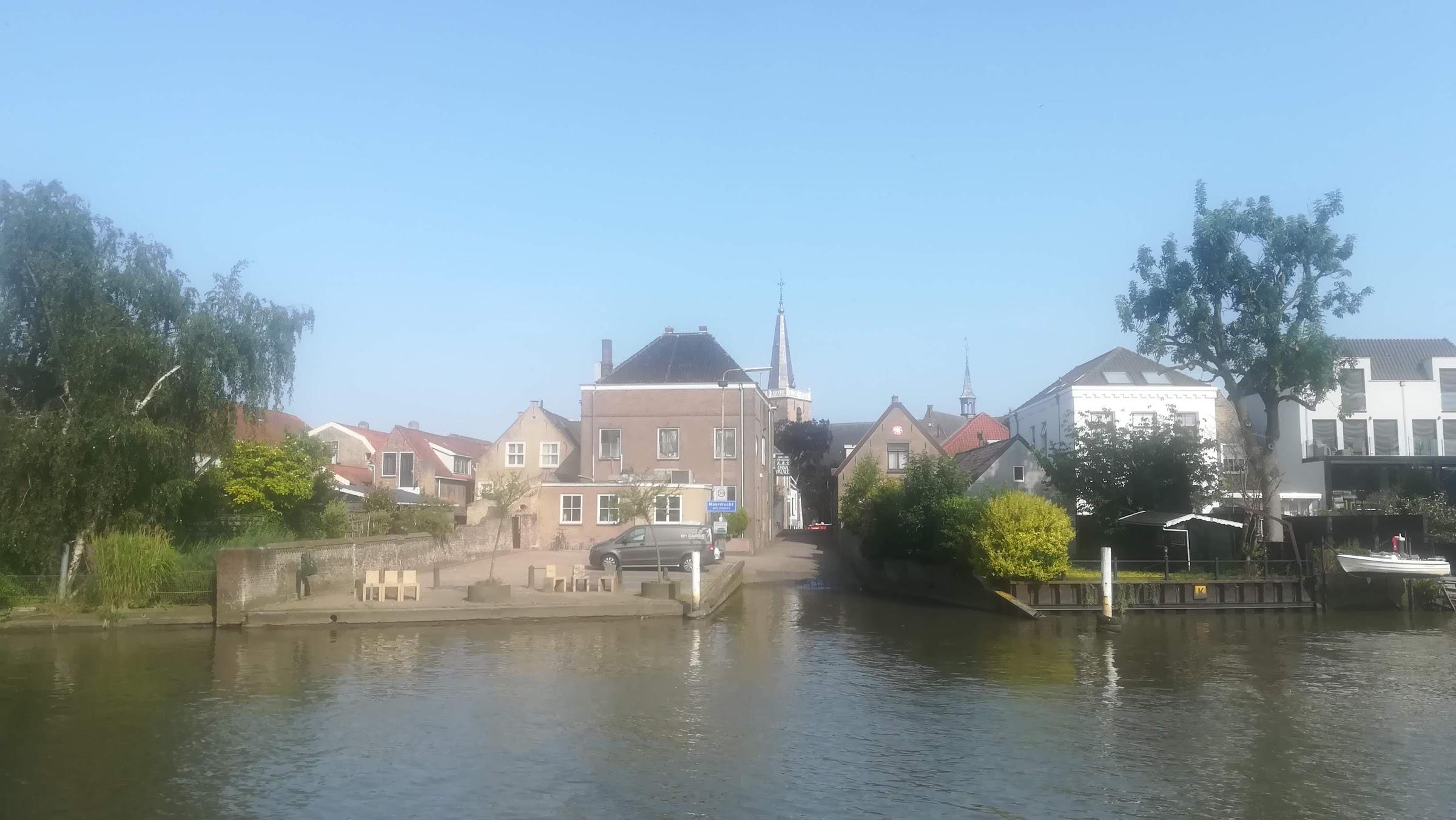 Moordrecht. Een mooi hoekje aan de Hollandse IJssel