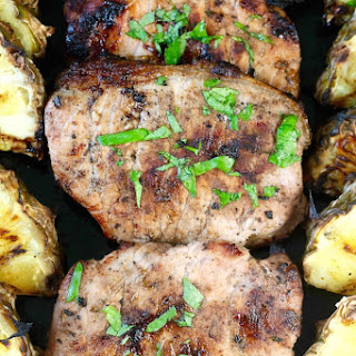 Easy Citrus Grilled Pork Chops.