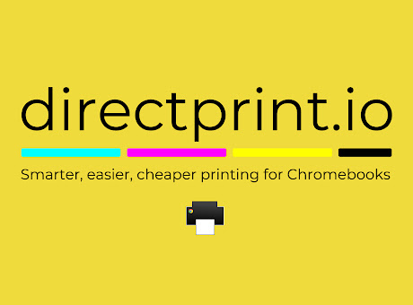 directprint.io printing for Chromebooks