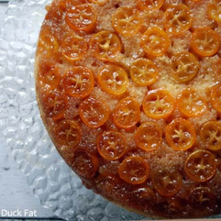 Kumquat Upside-down Cake.