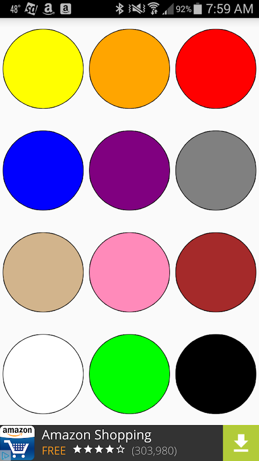 Kids Colors Tap And Learn- screenshot