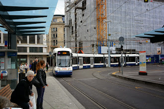 Photo: Our tram arrives