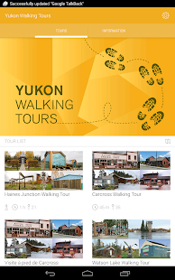 Yukon Walking Tours- screenshot thumbnail