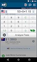 Screenshot of XE Currency Pro