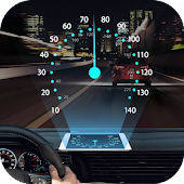 Speedometer: Car Heads Up Display GPS Odometer App