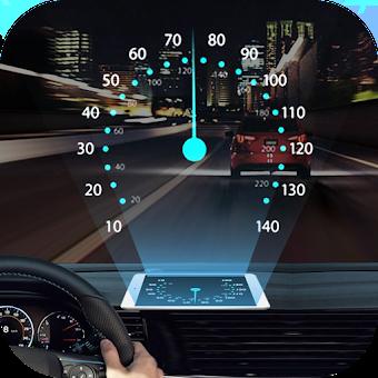 Speedometer: Car Heads Up Display GPS Odometer App