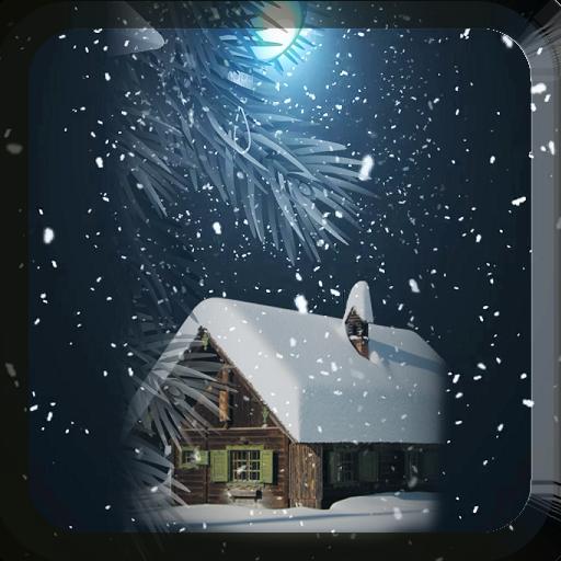 Snow Storm Live Wallpaper 個人化 App LOGO-硬是要APP