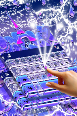 French Keyboard Theme - screenshot