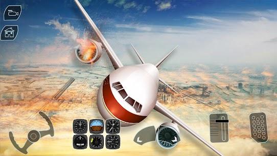 Take off Airplane Pilot Race Flight Simulator 7