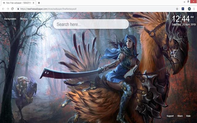 Final Fantasy Wallpaper HD New Tab Themes
