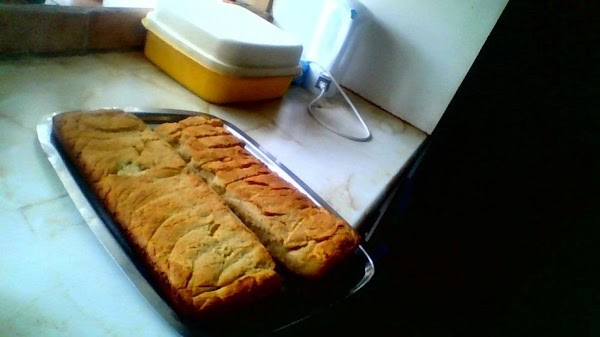 Bake at 180 degrees for 55 to 60 minutes or until the cake top...