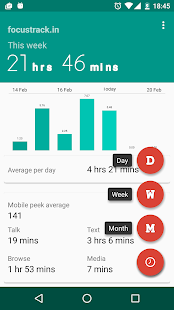 Focustrack.in: Usage Tracker- screenshot thumbnail