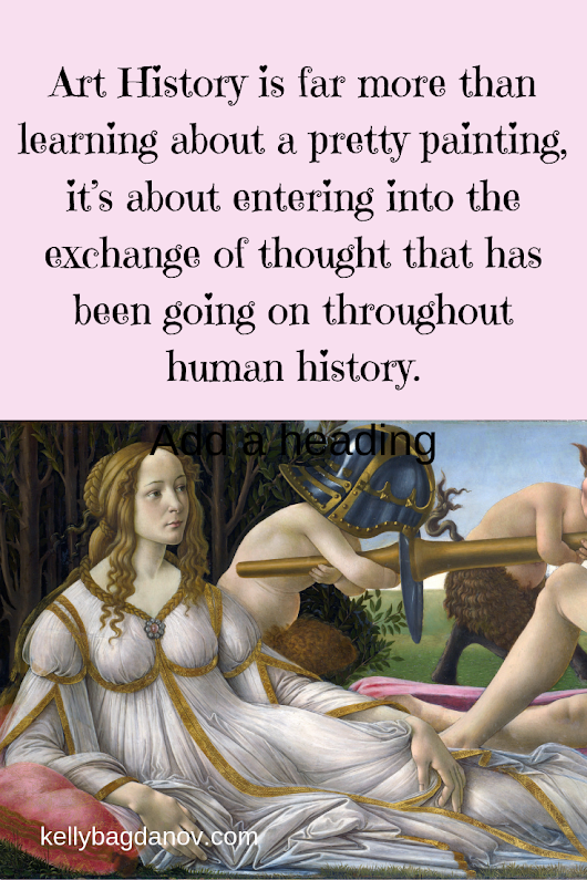 Video and article: The exchange of thought throughout human history has been reflected in art. We can learn the visual language to enter the conversation #kellybagdanov #arteducation #apart #classicalconversation #charlottemason