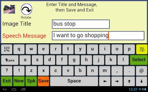 Photo Communicator AAC Lite screenshot 2