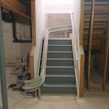 Photo: Curve Stairlift Egg Harbor