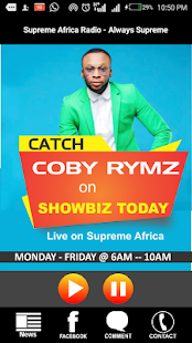 Supreme Africa Radio- screenshot thumbnail