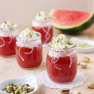 Sicilian Watermelon Pudding (Gelo di Melone).