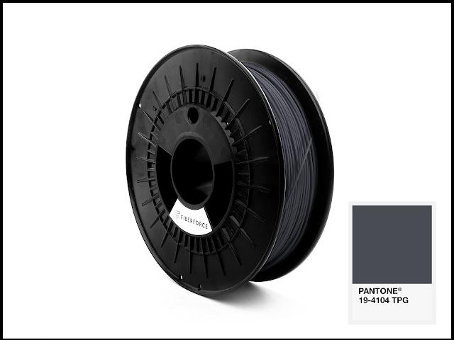FiberForce Pantone (R) 19-4104 TPG PLA Filament - 1.75mm (0.75kg)
