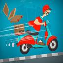 Crazy Courier Ride Icon