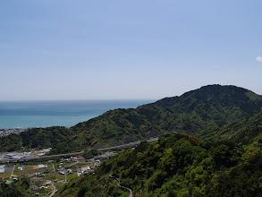 日本坂トンネル方面
