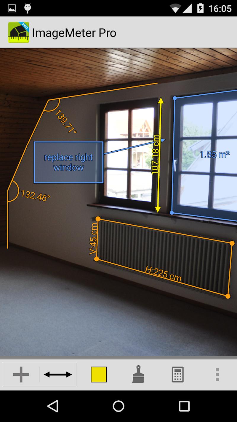 ImageMeter - photo measure Screenshot 2