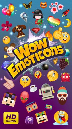Wow Emoticons - Amazing Emoji