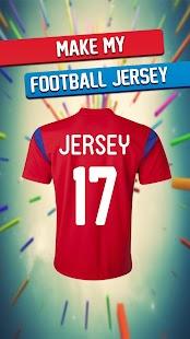 Make My Football Jersey Ekran Görüntüsü