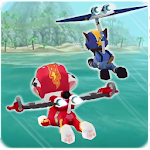Paw Puppy Flying Patrol Icon