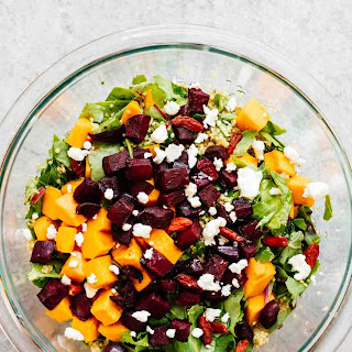 Roasted Beets & Sweet Potato Salad Recipe