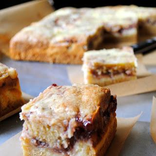 Raspberry Cheesecake Blondies