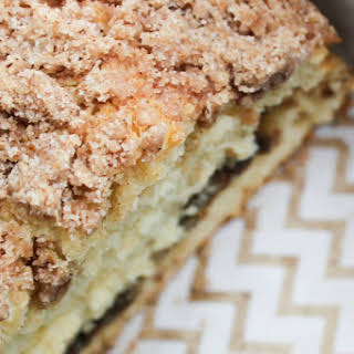 Copycat Starbucks Reduced-Fat Cinnamon Swirl Coffee Cake.
