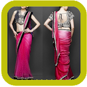 New Idea Saree Drapes