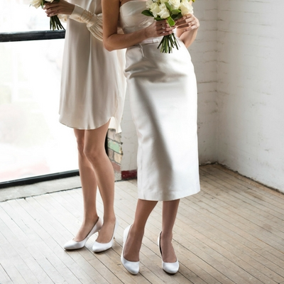 Stretching your wedding shoes: bride comfort tips