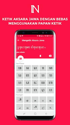 Nulis Aksara Jawa - Konversi dan Ketik Aksara Jawa 3.2 screenshots 4