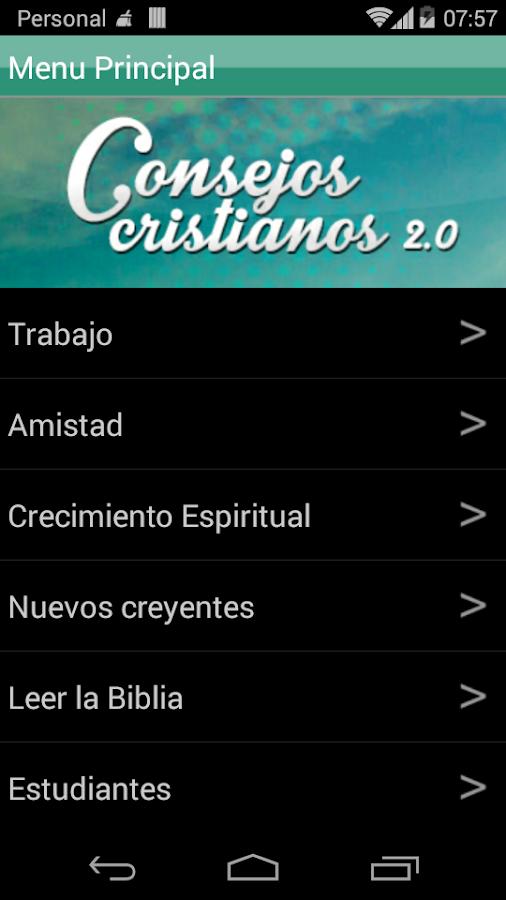 Consejos Cristianos 2.0- screenshot