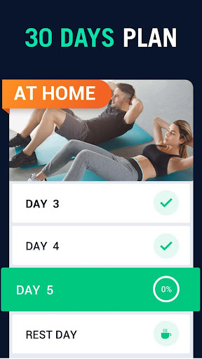 30 Day Fitness Challenge - Workout at Home screenshot 2