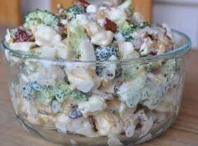Creamy Broccoli And Cauliflower Salad W/poppy Seed
