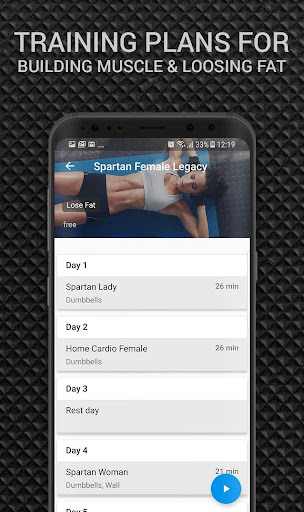 Spartan Female MMA Workouts Pro screenshot 1
