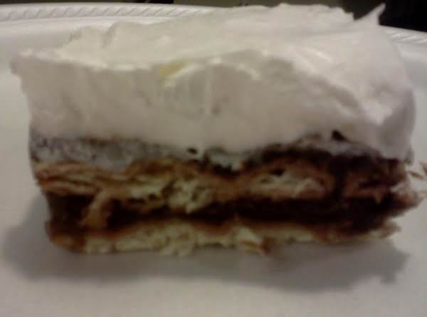 Old Fashioned Eclair Cake