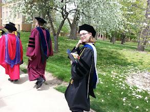 Photo: the thoughtful professor pose :)