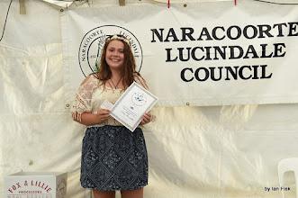 Photo: Chloe winner in the Intermediate Vocal section